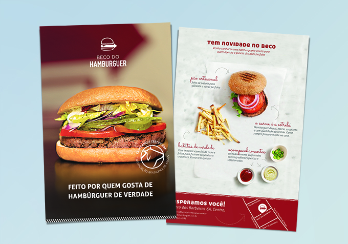 <b>Beco do Hamburger </b> <br/>Identidade Visual